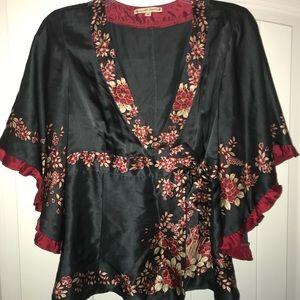 Nanette Lepore kimono-style blouse, Size 6